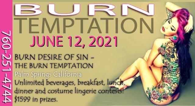 Sea Mountain BURN Temptation June 12