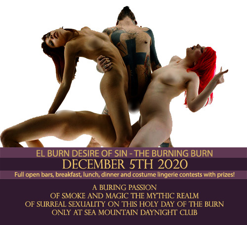 Sea Mountain Nude Lifestyles Spa Resort BURN Special Event