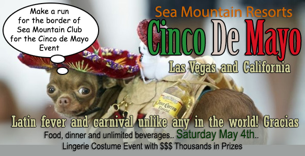 Sea Mountain Nude Lifestyles Spa Resort Las Vegas and Palm Springs - Cinco De Mayo Special Events