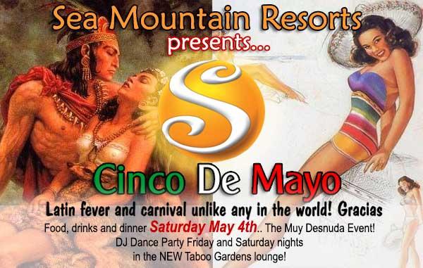 Sea Mountain Nude Lifestyles Spa Resort Las Vegas and Palm Springs - Cinco De Mayo Special Events