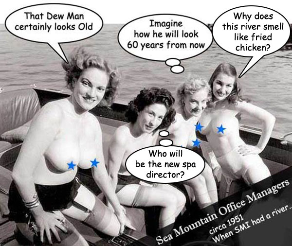 Sea Mountain Office Managers circa 1951
