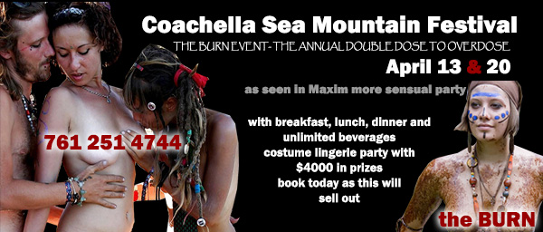 Celebrity DJs Sea Mountain BURN Event Almost Sold-Out and SMI News and YOU - VIP All New