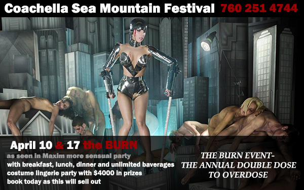Sea Mountain Spa Coachella TOO and the Event THE Spring Break for Adults Only Coachella TWO - 420 at SMI 420 Event Saturday with unlimited beverages, friends, songs and sin!