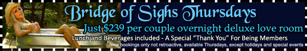 Sea Mountain Nude Lifestyles Spa Resorts Bridge of Sighs Special Offer
