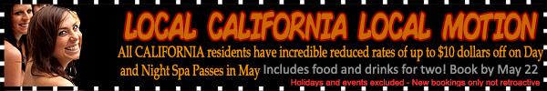 Sea Mountain California Local Motion Offer
