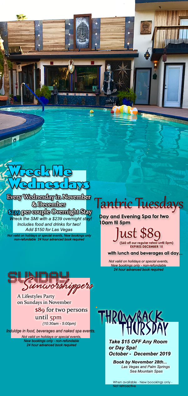 Sea Mountain Nude Lifestyles Resorts Special Offers