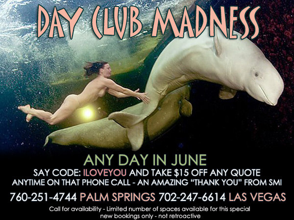 Sea Mountain Nude Lifestyles Spa Resort - Day Club Madness Special Offer