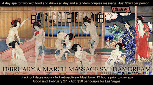 Sea Mountain Nude Lifestyles Spa Resorts Las Vegas and Palm Springs - February's Massage SMI Day Dream