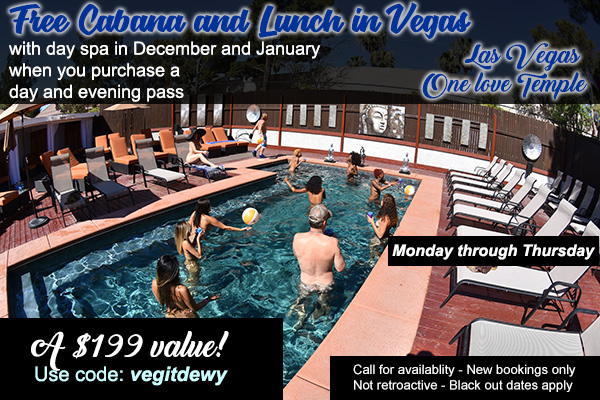 Las Vegas FREE Cabana and Lunch Special