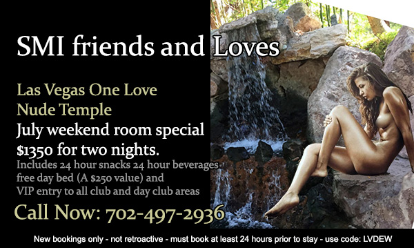 Sea Mountain Nude Lifestyles Spa Resorts - SMI Friends and Loves Las Vegas Special Offer