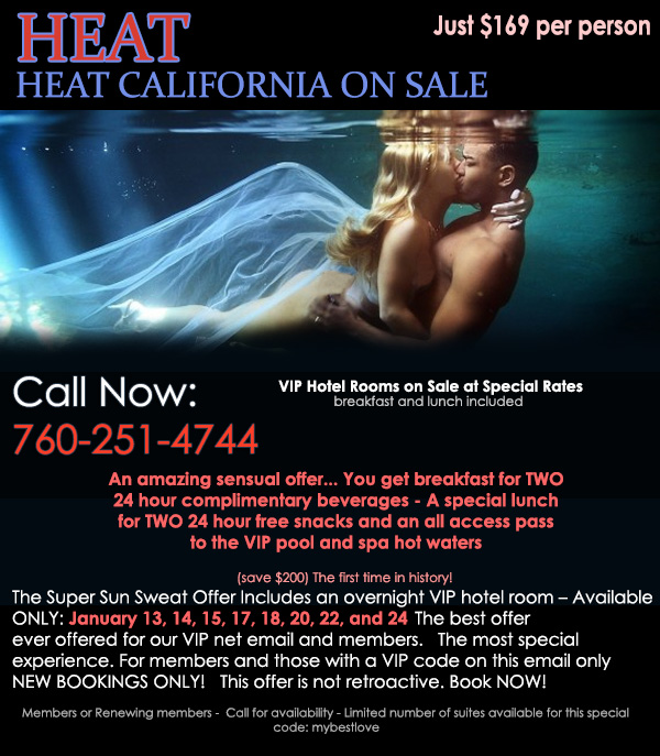 Sea Mountain Nude Lifestyles Resorts and Spas - Heat Special California