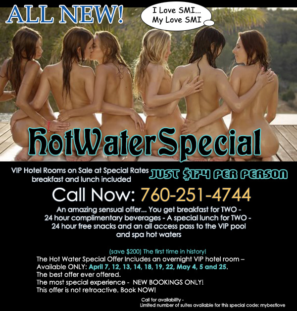 Sea Mountain Hot Water Offer