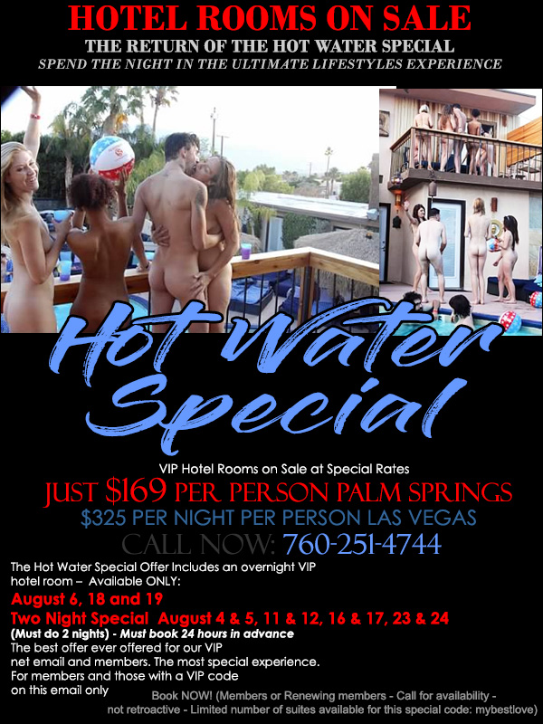 Sea Mountain Nude Lifestyles Spa Resorts - Hot Water Special
