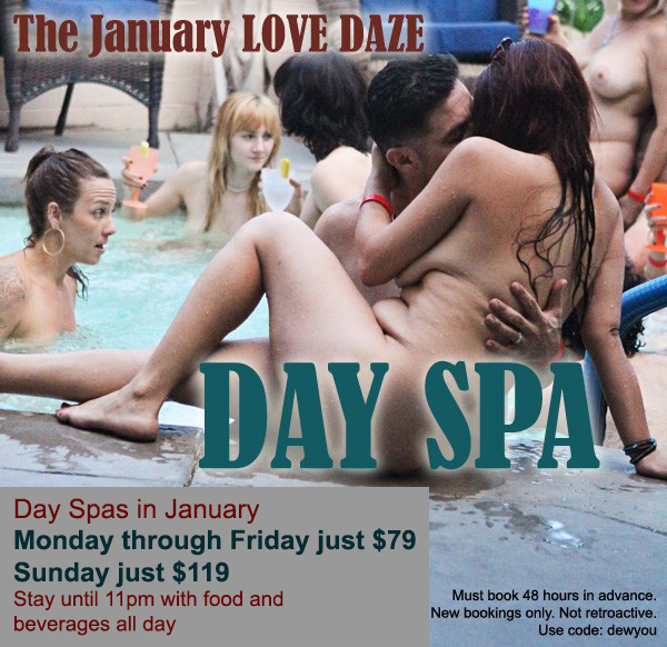 Sea Mountain Nude Lifestyles Spa Resorts - January Love Daze Special Offer