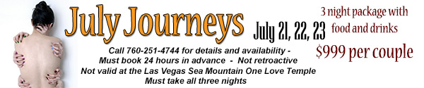 Sea Mountain Nude Lifestyles Spa Resorts - July Journeys Special Offer