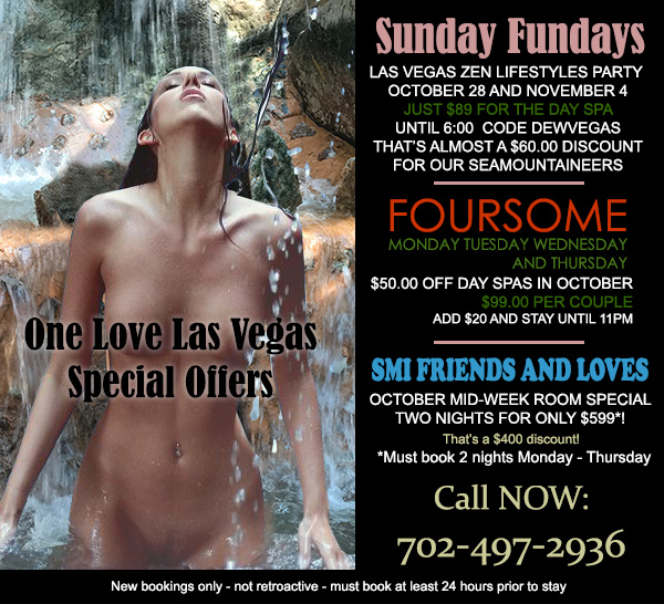 Sea Mountain Nude Lifestyles Spa Resorts One Love Las Vegas Special