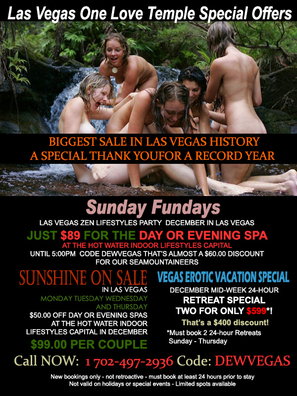 Sea Mountain One Love Las Vegas Special Offers