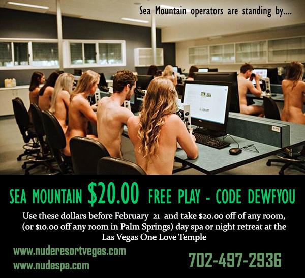 Sea Mountain Freeplay $20 for you