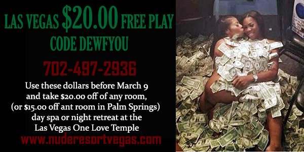 Sea Mountain Nude Lifstyles Spa Resorts - Las Vegas Free Play Special Offer