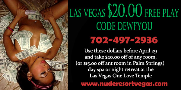 Sea Mountain Nude Lifestyles Spa Resort Las Vegas - Las Vegas Free Play Special Offer