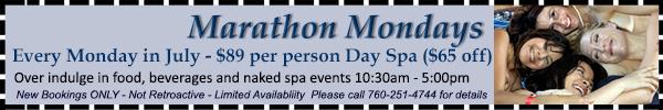 Marathon Mondays Offer