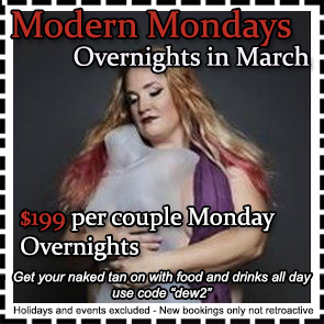 Sea Mountain Nude Lifestyles Spa Resorts Modern Mondays Special Offer