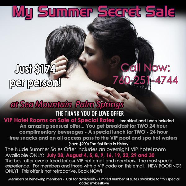 My Summer Secret Offer