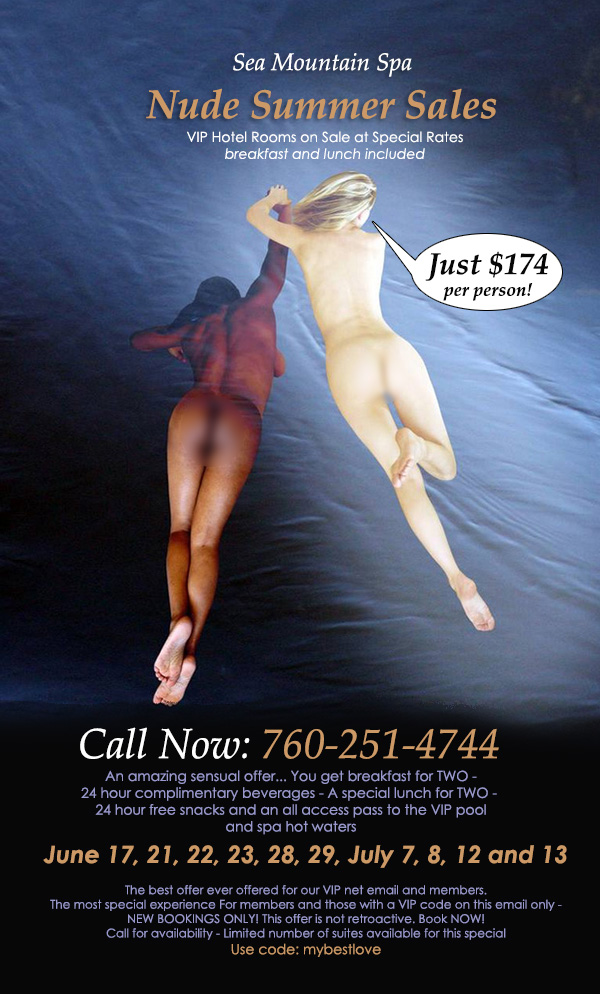Nude Summer Sales Offer