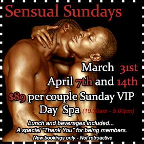 Sea Mountain Nude Lifestyles Spa Resort Las Vegas and Palm Springs - Sensual Sundays Special Offer