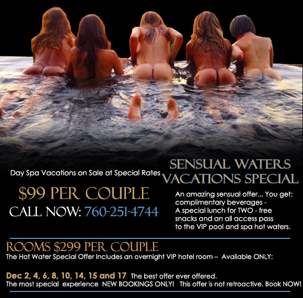 Sea Mountain Nude Lifestyles Spa Resorts - Sensual Waters Vacations Special
