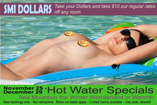 Sea Mountain Nude Lifestyles Spa Resorts - SMI Dollars Special