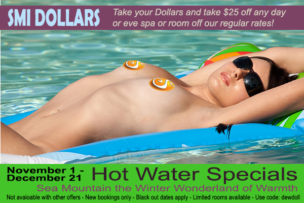 Sea Mountain Nude Lifestyles Spa Resorts - SMI Dollars Special Offer