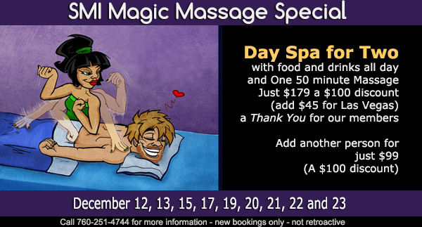 Sea Mountain Nude Lifestyles Spa Resorts - SMI Magic Massage Special Offer