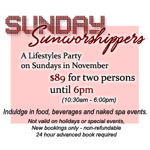 Sea Mountain Nude Lifestyles Resorts - Sunday Sunworshippers Special Offer