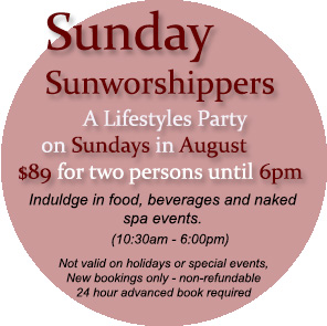 Sea Mountain Nude Lifestyles Spa Resorts - Sunday Sunworshippers Special Offers