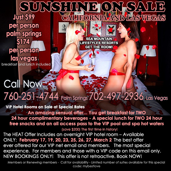 Sea Mountain Nude Lifstyles Spa Resorts - Sunshine on Sale Special Offer
