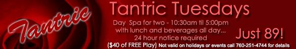 Sea Mountain Nude Lifestyles Spa Resorts - Tantric Tuesdays Special