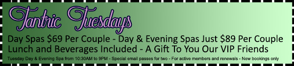 Tantric Tuesdays Special Offer
