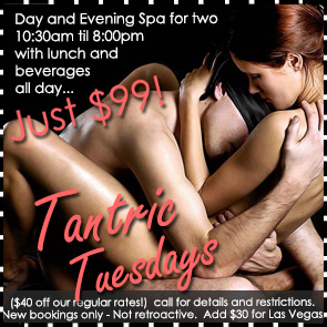Sea Mountain Nude Lifestyles Spa Resort Las Vegas and Palm Springs - Tantric Tuesdays Special Offer