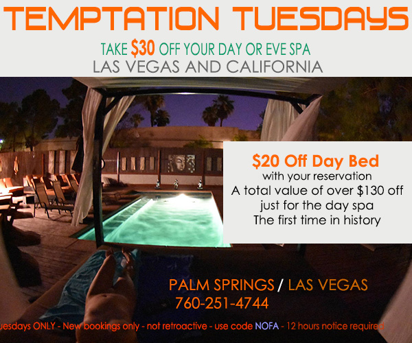 Sea Mountain Nude Lifestyles Spa Resorts - Temptation Tuesdays Special Offer