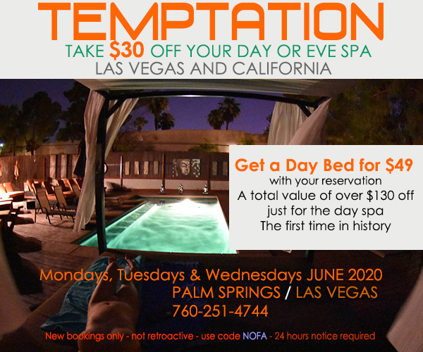 Sea Mountain Nude Lifestyles Spa Resort - Temptation Special Offer
