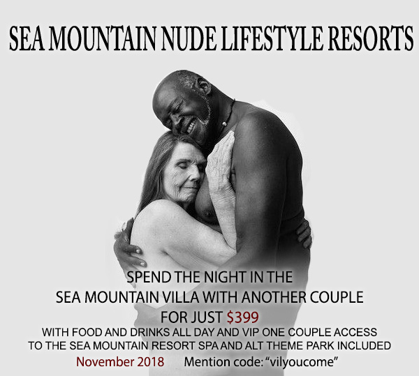 Sea Mountain Nude Lifestyles Spa Resorts Dew Villa Vacation Special