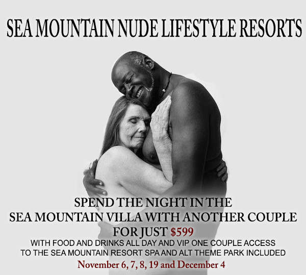 Sea Mountain Nude Lifestyles Resorts - Spend the night in the Sea M mountain Villa with another couple for just $599