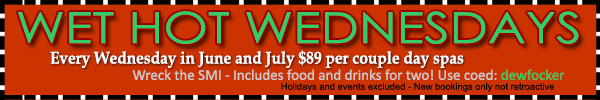 Sea Mountain Nude Lifestyles Spa Resorts - Wet Hot Wednesdays Special Offer