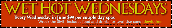 Sea Mountain Nude Lifestyles Spa Resort - Wet Hot Wednesdays Special Offer