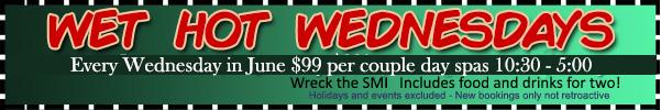 Sea Mountain Wet Hot Wednesdays Offer