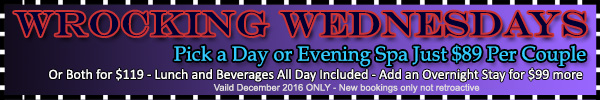 Wrocking Wednesdays Special Offer
