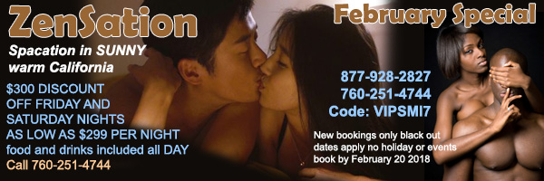 Zensation February Special Sea Mountain Nude Lifestyles Spa Resorts