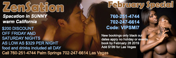 Sea Mountain Nude Lifestyles Spa Resorts Las Vegas and Palm Springs - Zensation Special Offer