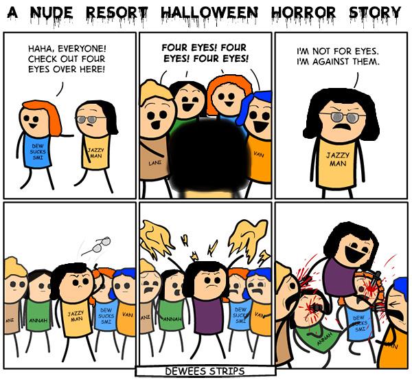 A Nude Resort Halloween Horror Story -  Sea Mountain Nude Lifestyles Spa Resorts Las Vegas and Palm Springs
